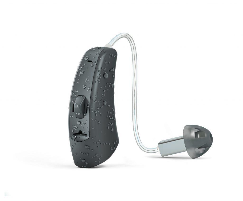 Mokry aparat słuchowy